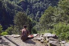 Agricoltore nepalese Fotografia Stock Libera da Diritti