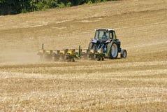 Agricoltore Seeding Field Immagine Stock Libera da Diritti