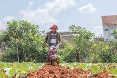 Agricoltore sul campo Fotografie Stock