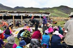 Agricoltore tibetano Immagine Stock Libera da Diritti