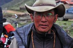 Agricoltore tibetano Immagini Stock Libere da Diritti