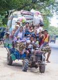Agricoltori birmani nel Myanmar Immagini Stock