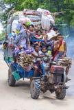Agricoltori birmani nel Myanmar Fotografia Stock