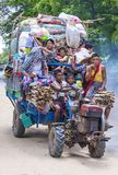 Agricoltori birmani nel Myanmar Fotografie Stock