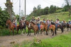 Agricoltori in Costa Rica Immagini Stock Libere da Diritti