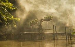 agricoltori dell'uomo Fotografie Stock
