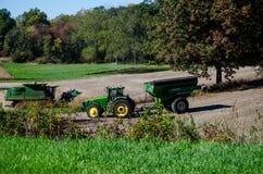 Agricoltori duro sul lavoro Fotografia Stock Libera da Diritti