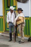 Agricoltori locali all'aperto in Salento Colombia Immagine Stock Libera da Diritti
