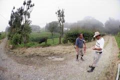 Agricoltori maschii bei in Costa Rica Fotografia Stock