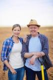 Agricoltori maschii e femminili Immagine Stock
