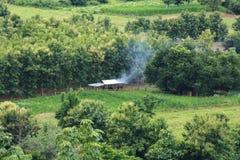 Agricoltori nelle montagne Immagine Stock Libera da Diritti