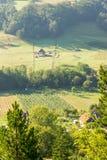 Agricoltori nelle montagne della Serbia Immagine Stock Libera da Diritti