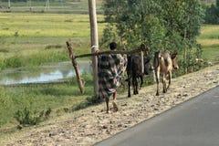 Agricoltori poveri in Etiopia Immagini Stock