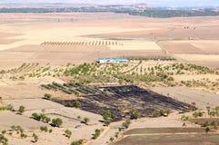 Agricoltura in Andalusia, il sud della Spagna Immagine Stock