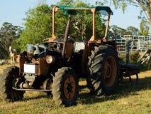 Agricoltura australiana Australia del trattore dell'annata Immagine Stock Libera da Diritti