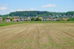 Agricoltura in Baviera Fotografia Stock Libera da Diritti