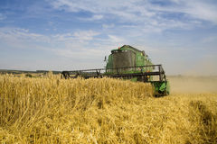 Agricoltura - Combine Immagini Stock