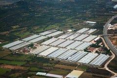 Agricoltura dal cielo Immagine Stock