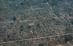 Agricoltura dal cielo Immagine Stock Libera da Diritti