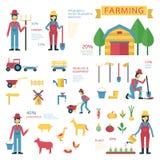 Agricoltura degli elementi illustrazione vettoriale