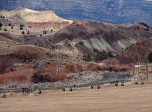 Agricoltura del canyon Immagini Stock