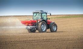 Agricoltura del fertilizzante Fotografia Stock Libera da Diritti