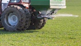 Agricoltura del fertilizzante Immagine Stock