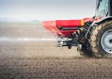 Agricoltura del fertilizzante Fotografia Stock
