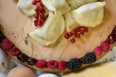 Agricoltura del fondo della frutta fresca del vegano dell'alimento Immagine Stock
