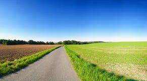 Agricoltura del paesaggio Fotografie Stock Libere da Diritti