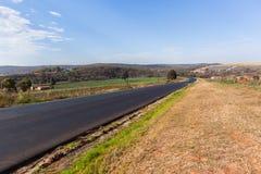 Agricoltura del paesaggio della strada della campagna Fotografia Stock