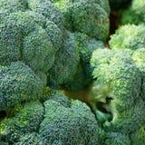 Agricoltura del primo piano, struttura dei broccoli Immagine Stock Libera da Diritti