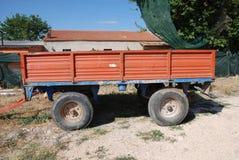 Agricoltura del rimorchio Fotografia Stock