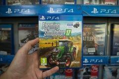 Agricoltura del simulatore 2017 Fotografia Stock Libera da Diritti