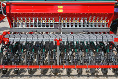 Agricoltura del trapano Immagini Stock Libere da Diritti