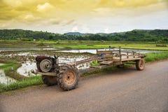 Agricoltura del trattore Immagine Stock