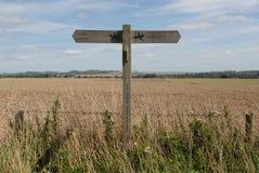 Agricoltura del Wiltshire Fotografie Stock