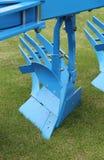 Agricoltura dell'aratro Fotografia Stock