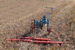 Agricoltura dell'aratro Immagini Stock Libere da Diritti
