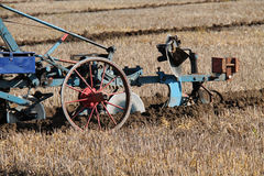 Agricoltura dell'aratro Immagine Stock