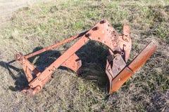 Agricoltura dell'attrezzatura dell'aratro Fotografia Stock Libera da Diritti