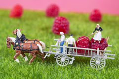 Agricoltura della gente del giocattolo Immagine Stock Libera da Diritti
