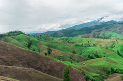 Agricoltura della montagna Immagini Stock Libere da Diritti