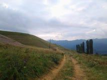 Agricoltura della montagna della natura Fotografia Stock Libera da Diritti