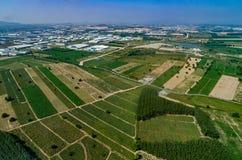 Agricoltura dello sviluppo della zona industriale Immagini Stock