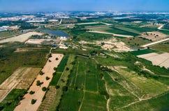 Agricoltura dello sviluppo della zona industriale Immagine Stock Libera da Diritti