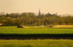 Agricoltura di estate Immagini Stock