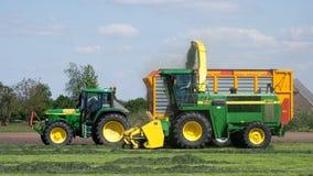 Agricoltura di John Deere Fotografie Stock