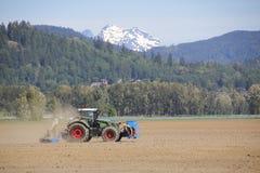 Agricoltura di montagna Immagini Stock