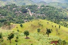 Agricoltura di montagna in Tailandia Fotografia Stock Libera da Diritti